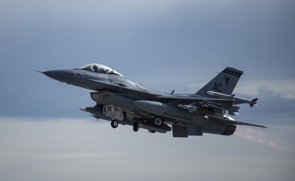 U.S. Air Force F-16C Fighting Falcon fighter jet