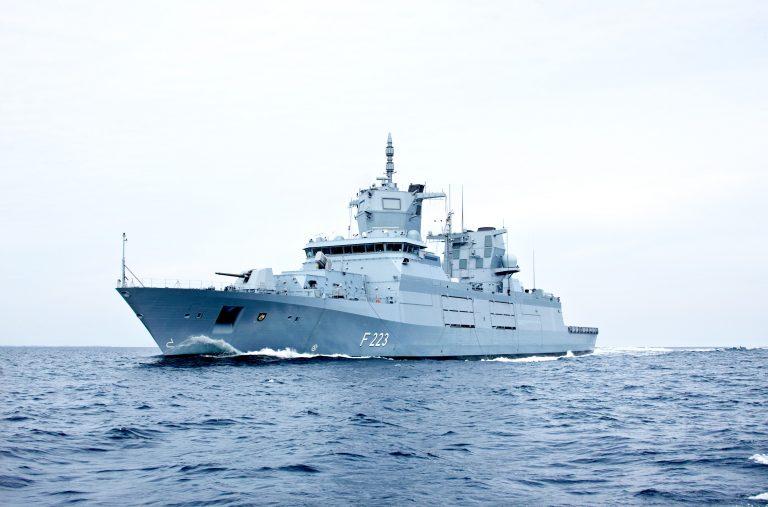 F125 Frigate Nordrhein-Westfalen Handed Over to to Germany's Procurement Agency - MilitaryLeak