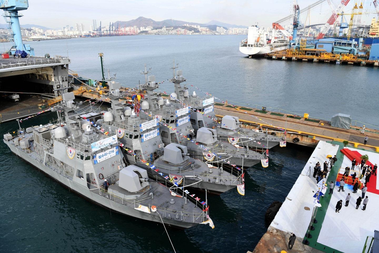 Republic of Korea Navy Chamsuri II-Class Patrol Boats