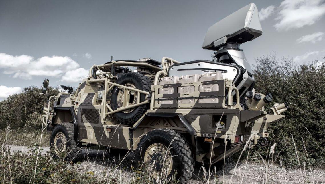 Giraffe 1X radar lightweight multi-mission surveillance