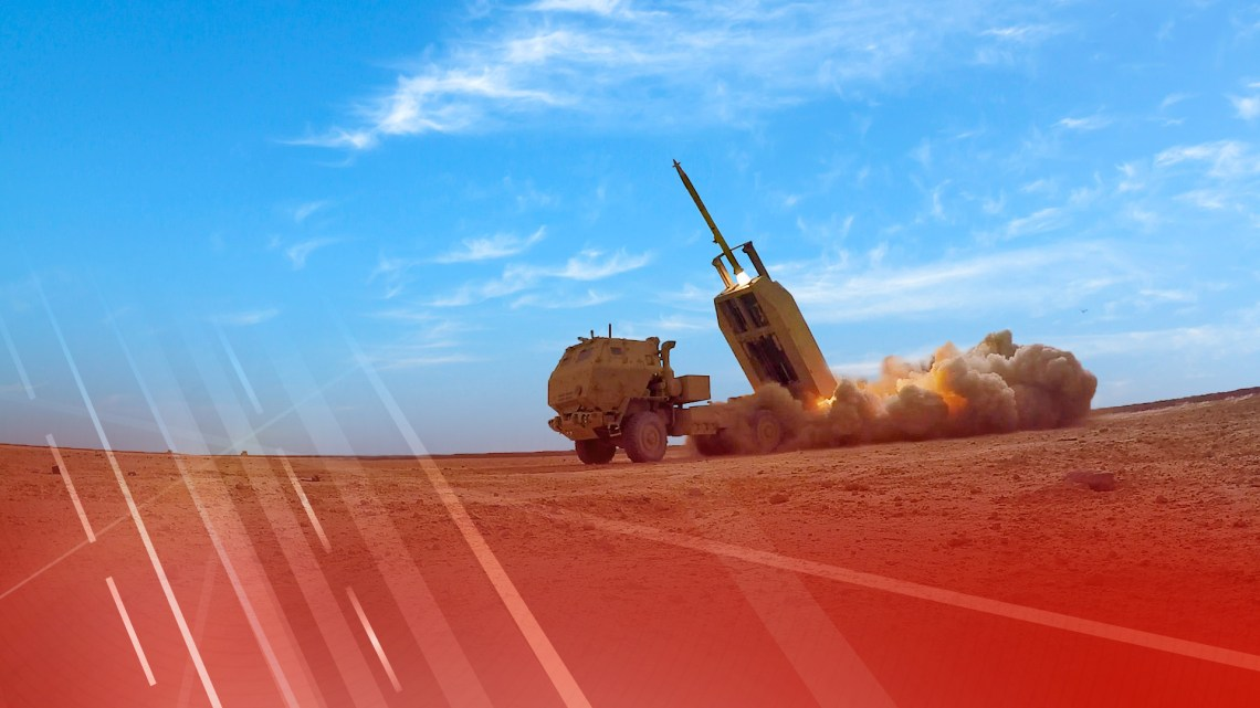 Lockheed Martin Guided Multiple Launch Rocket (GMLRS)