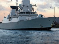Royal Navy HMS Defender air-defence destroyers