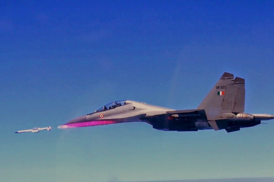 Indian Air Force Inducts Astra  Beyond Visual Range Air-to-Air Missile