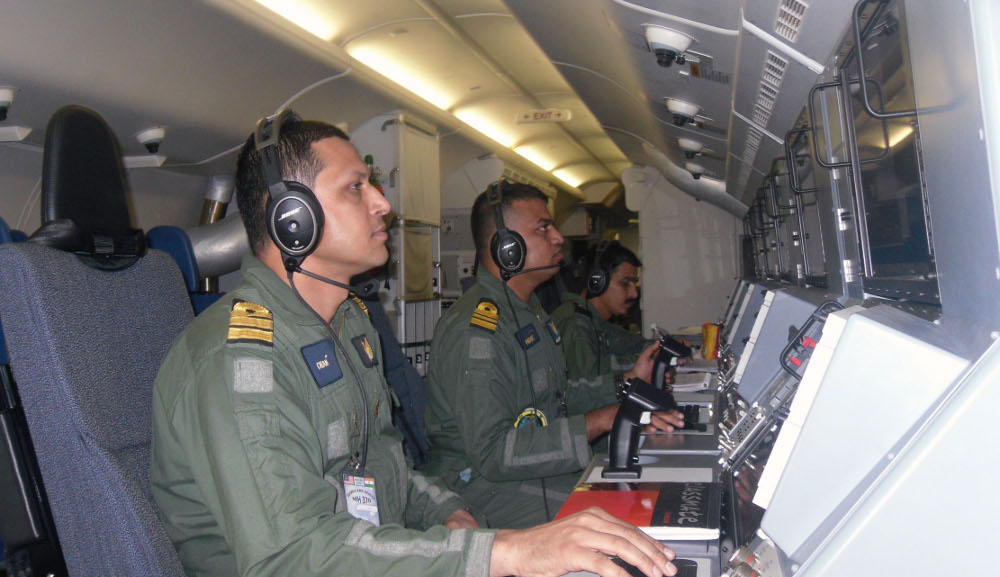 Indian Navy Boeing P-8I Neptune Maritime Patrol Aircraft