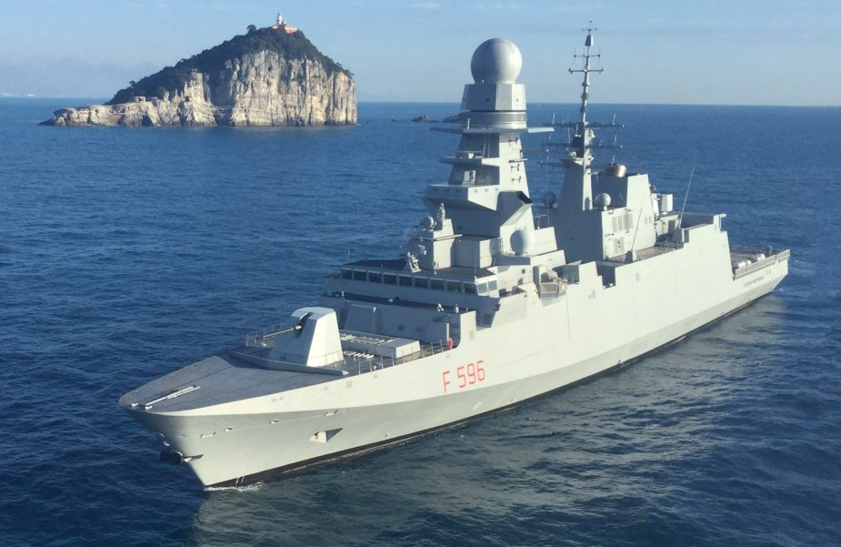 Italian Navy Frigate Martinengo Test Fires ASTER 30 Missile