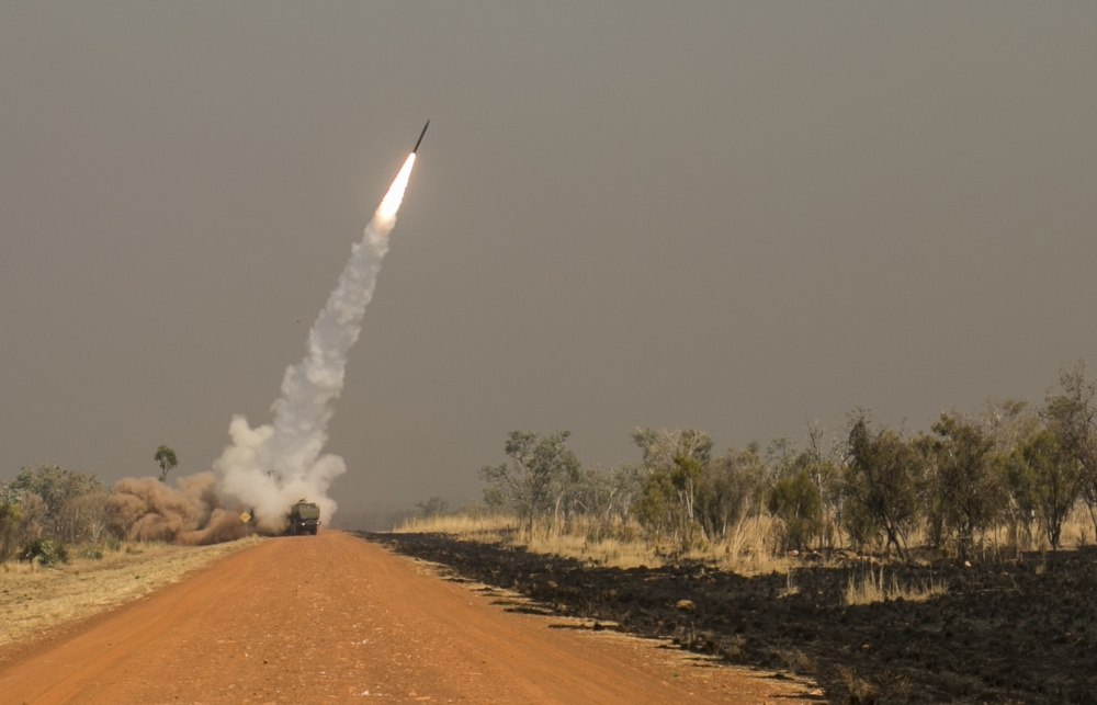 Guided Multiple Launch Rocket System (MLRS