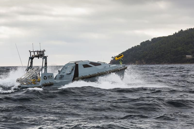 Lithuanian Navy Buys ECA's K-STER Mine Disposal Vehicle