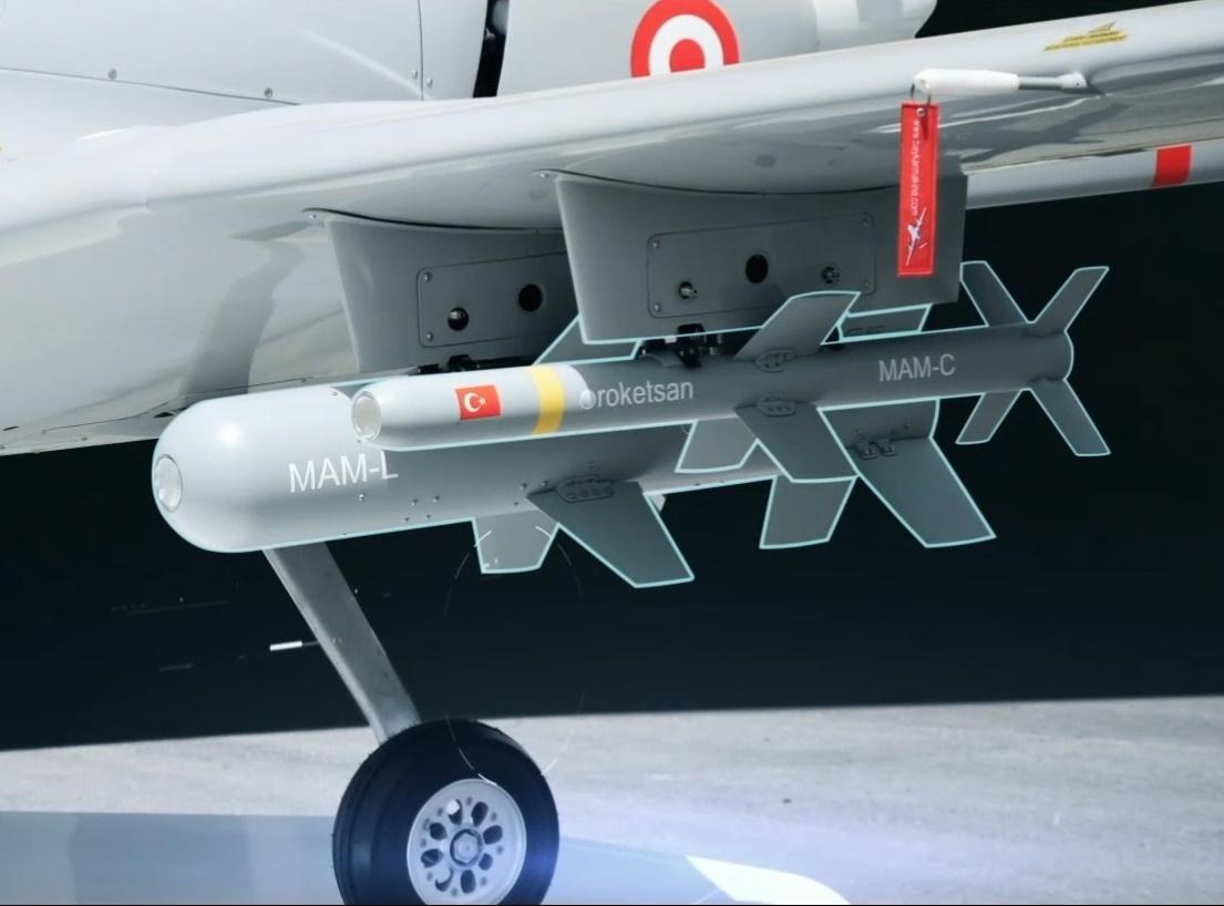 Roketsan MAM Laser-Guided Smart Micro Munition