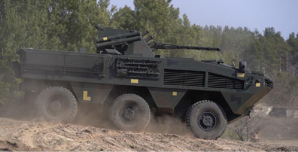 NGO Practika Otaman 6×6 infantry fighting vehicle