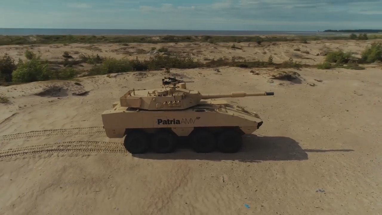 Patria AMVxp Tank Destroyer