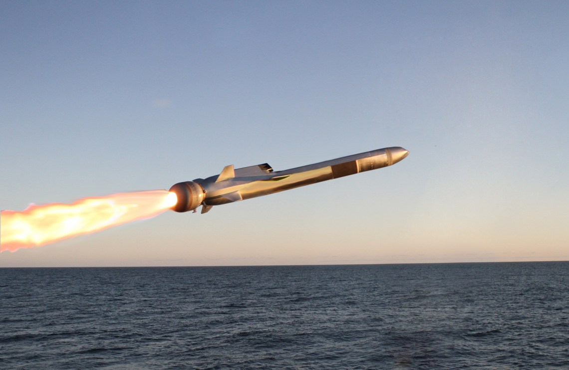 """Known for its """"sea-skimming"""" capability, the Naval Strike Missile can fly at very low altitudes over water and land."""
