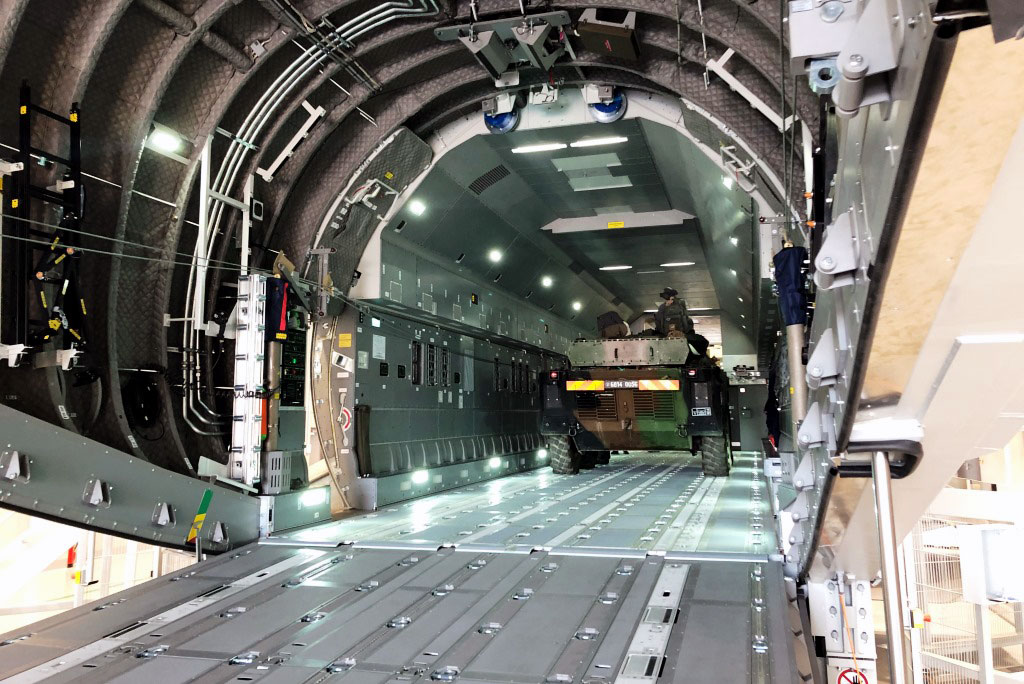 Rheinmetall A400M Cargo Hold Trainer – Enhanced (CHT-E)