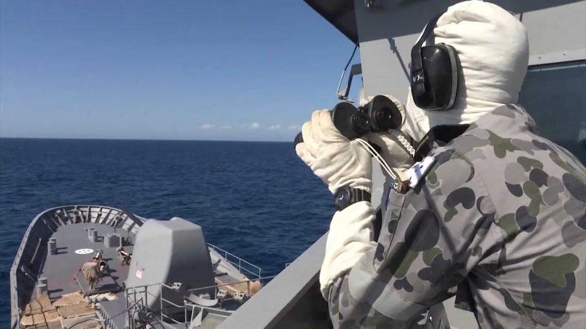 Royal Australian Navy HMAS Arunta Tests Its Evolved Sea Sparrow Missile