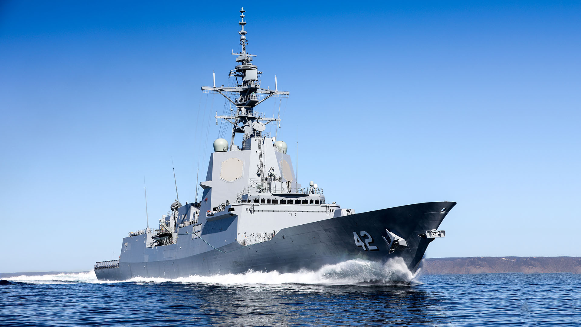 Royal Australian Navy HMAS Sydney (DDG 42) Air Warfare Destroyer