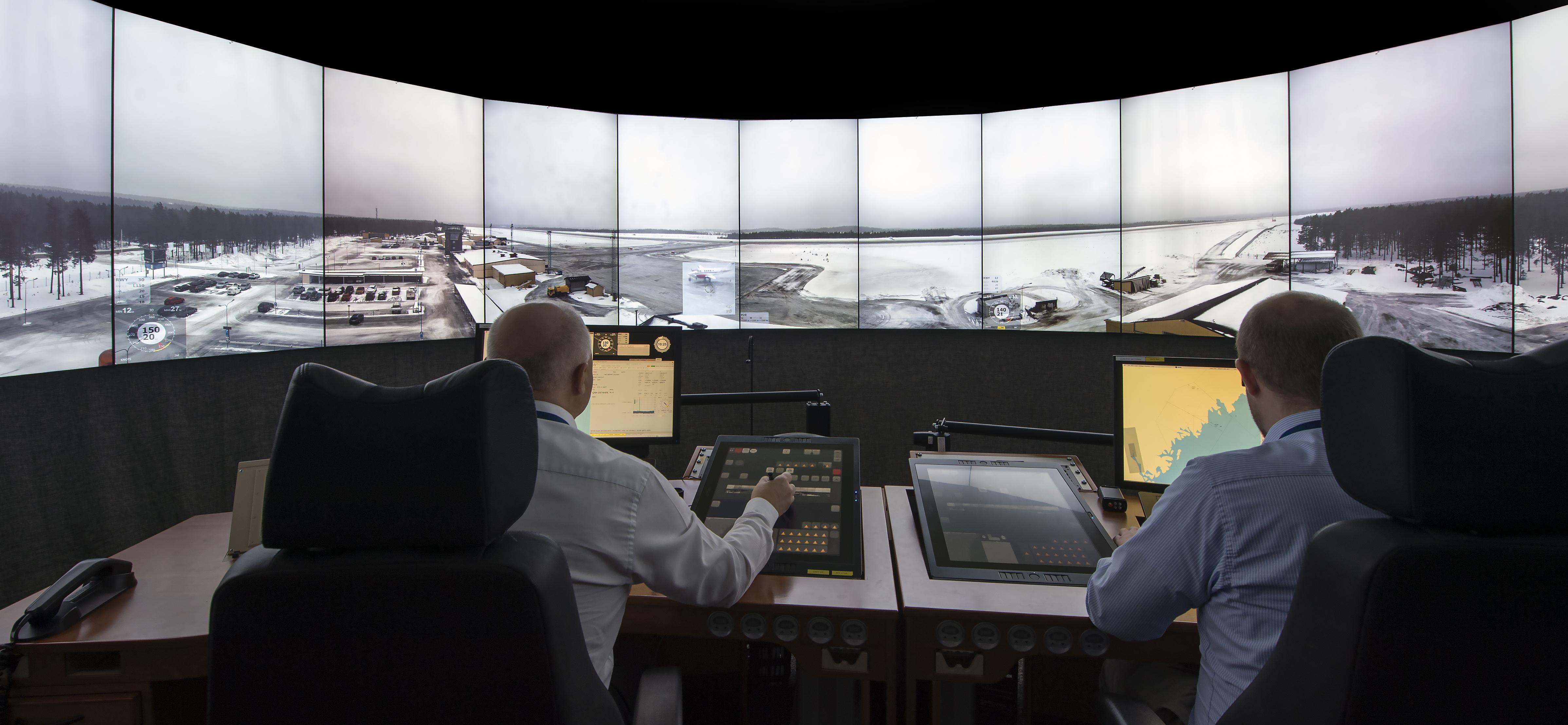 Saab Digital Tower Demonstrator Ordered by Royal Air Force