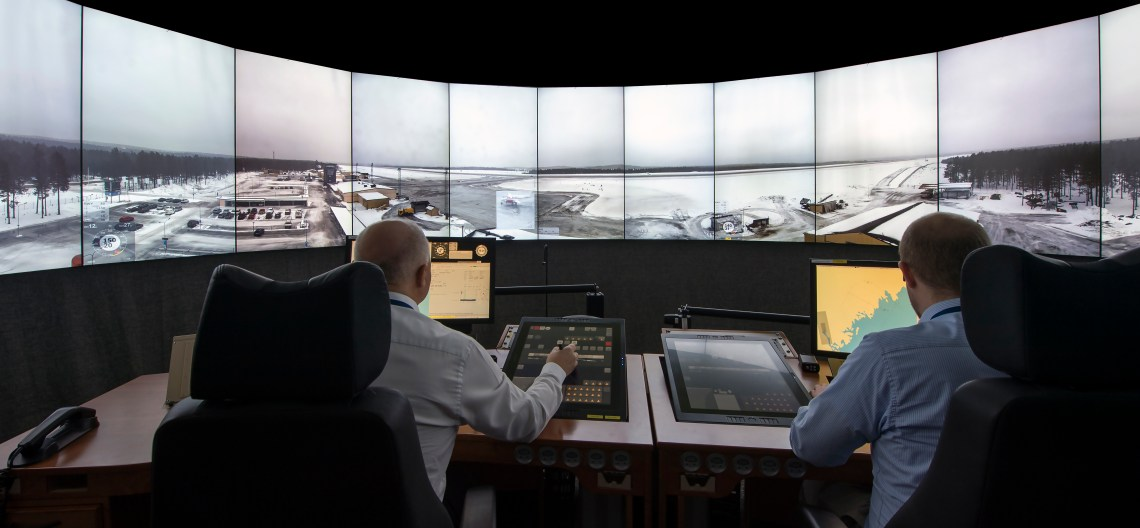 Saab Digital Tower Demonstrator Ordered by Royal Air Force