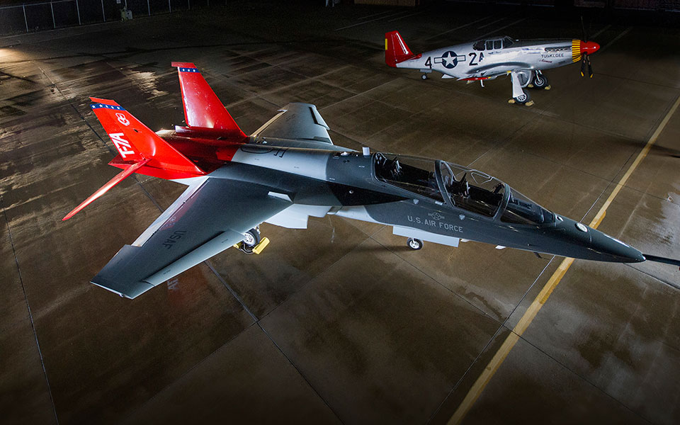 Boeing T-7A Red Hawk Jet Trainer