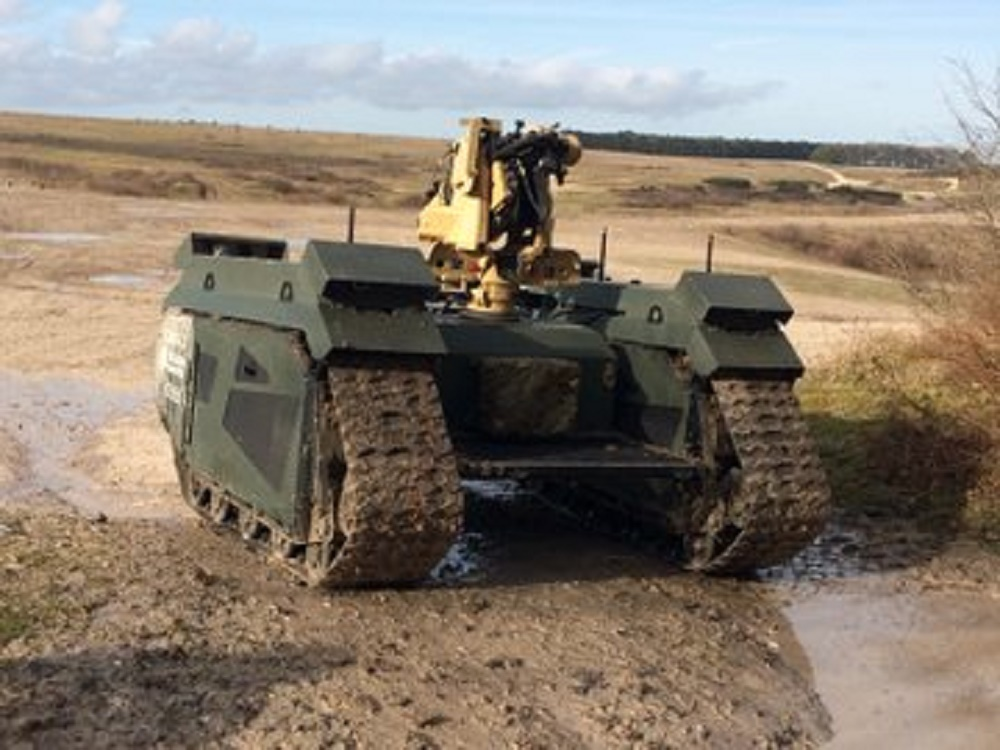QinetiQ Titan Unmanned Ground Vehicle