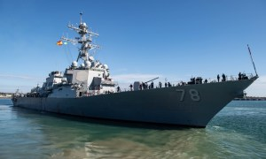 Two U.S. Navy Destroyers Deploy as U.S. 6th Fleet Remains Vigilant