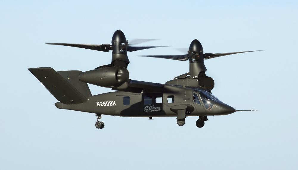 Bell V-280 Valor tiltrotor aircraft
