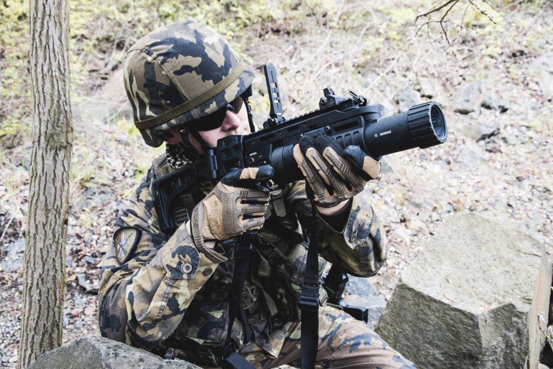 CZ 805 G1 grenade launchers
