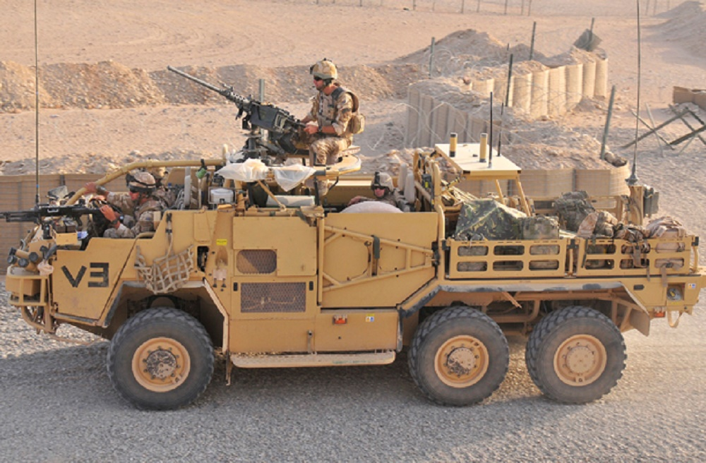 Supacat 600 High Mobility Transporter (Coyote)