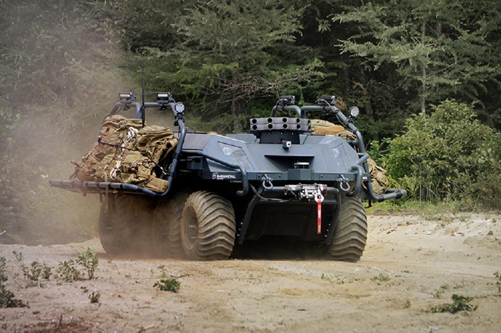 Rheinmetall's Mission Master Unmanned Ground Vehicle