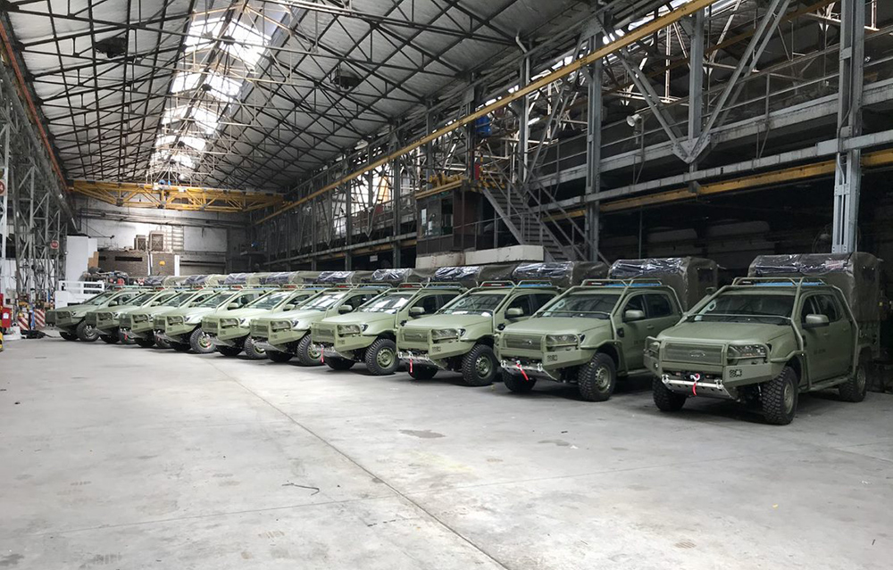 Argentine Army Receives New Pick-up Trucks