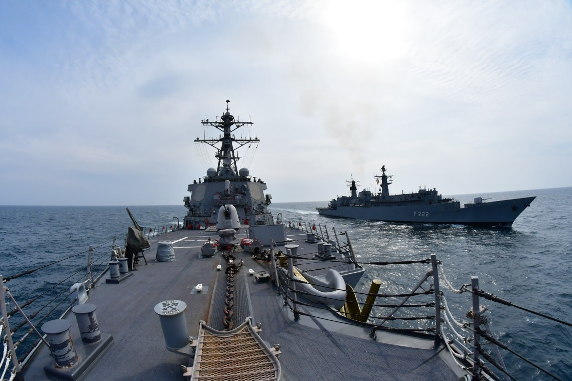 Arleigh Burke-Class Guided-Missile Destroyer USS Porter Continues Operations in the Black Sea