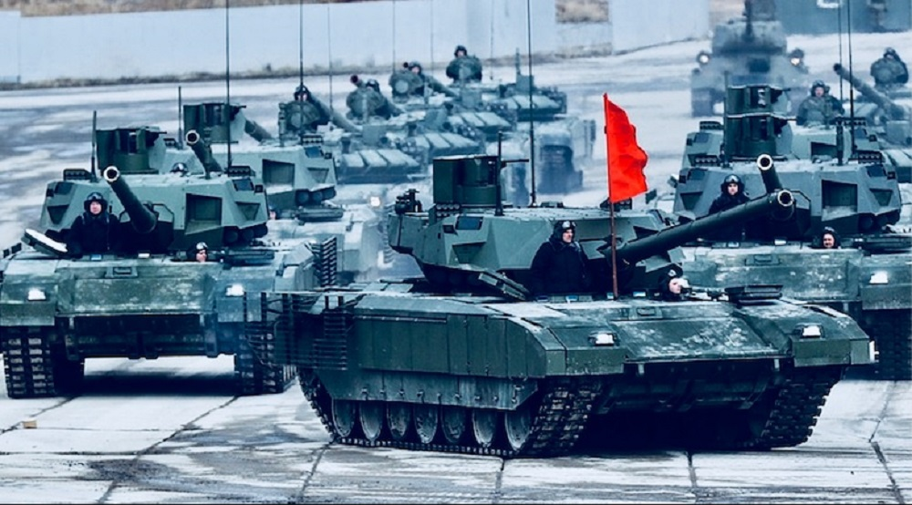 Russia Tests New T-14 Armata Tank on Syria Battlefield