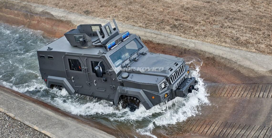 Armor Kovico KMPV 4x4 wheel armored vehicle