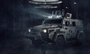 Armor Kovico KMPV 4x4 wheel armored vehicle