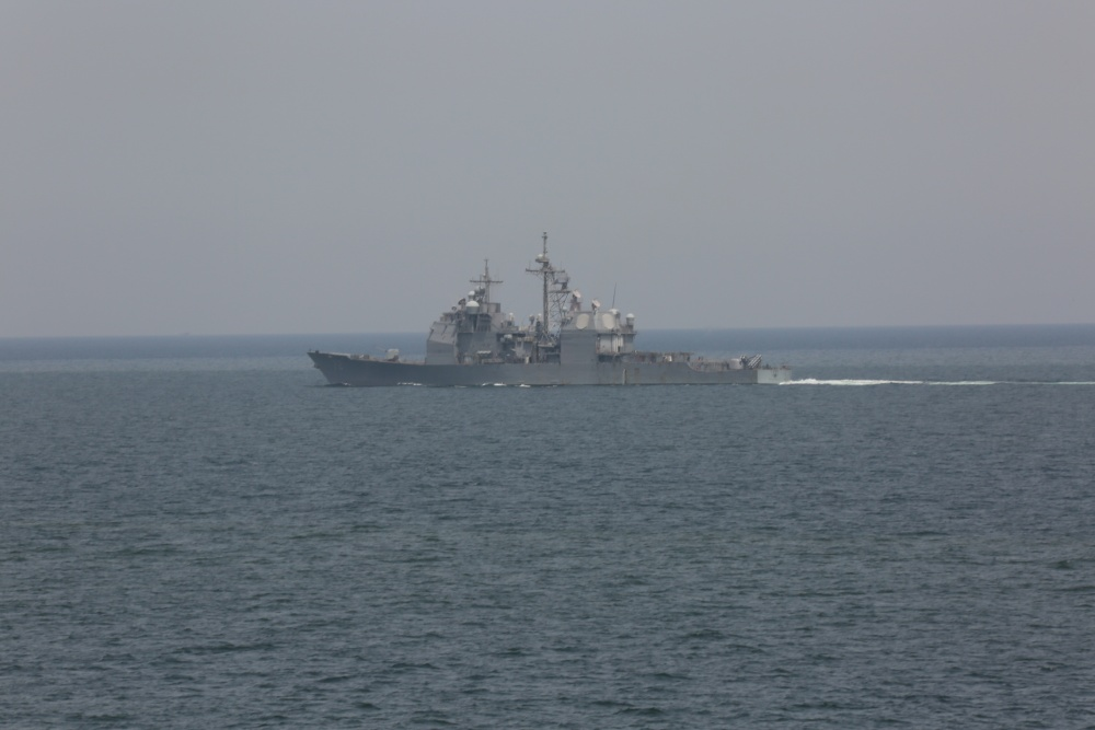 Bataan Amphibious Ready Group Transits Strait of Hormuz