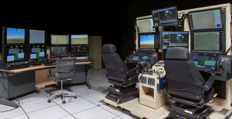 CAE-built Predator Mission Trainer now in-service at General Atomics Flight Test and Training Center in North Dakota