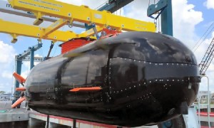 General Atomics Announces Dry Combat Submersible (DCS) with LiFT Batteries Accepted by USSOCOM