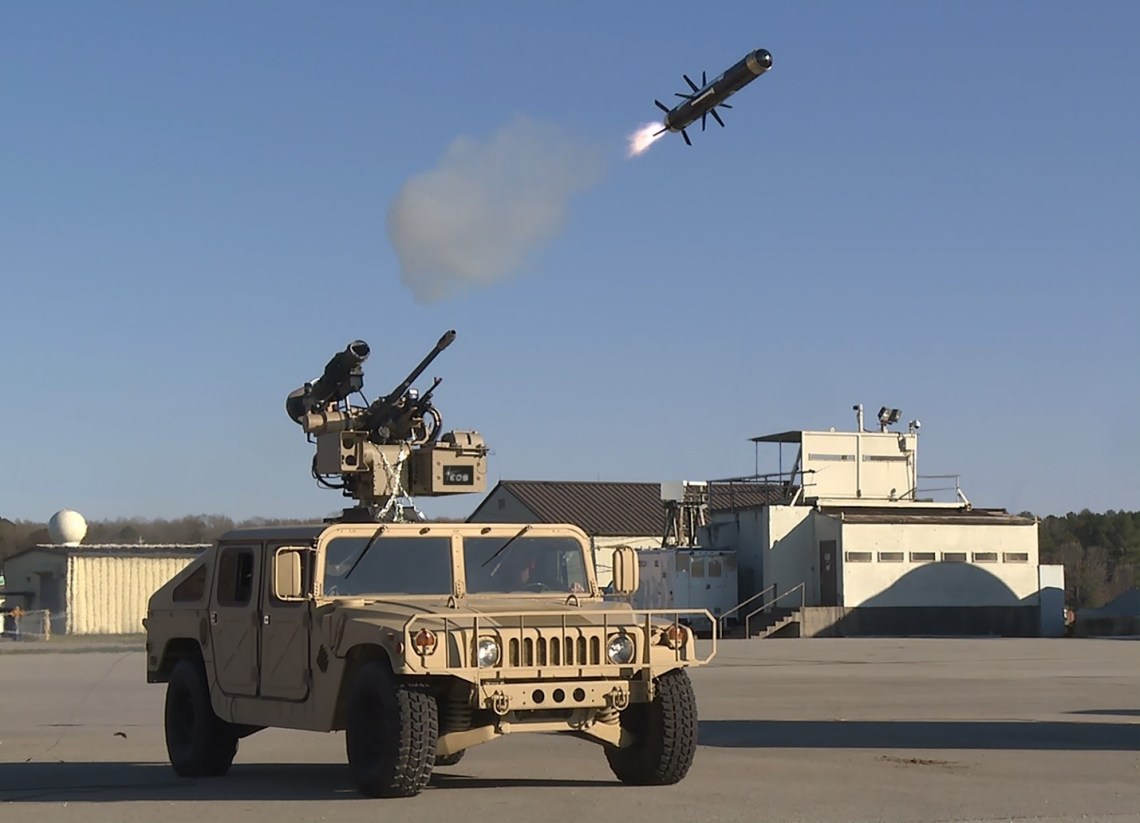 EOS Successfully Fires Multiple Weapons from Remote Weapon Station