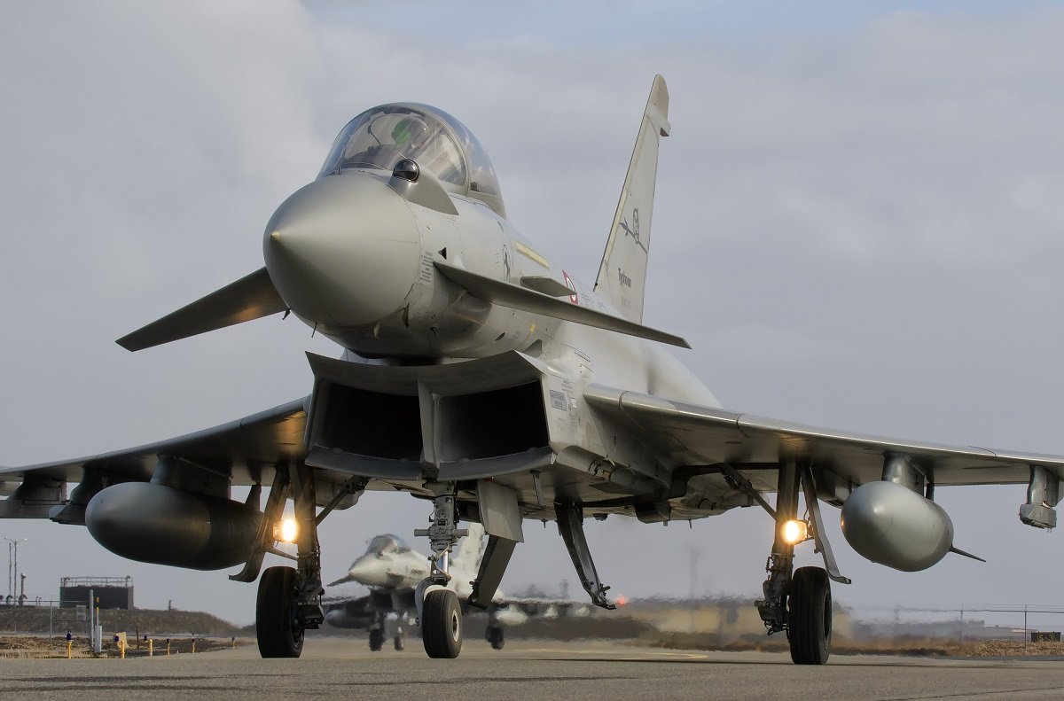 New Eurofighter Typhoon Squadron Stands Up in Northern Italy