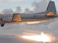 Atlantique 2 firing Exocet AM39