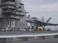 U.S Navy Boeing F/A-18E/F Super Hornet