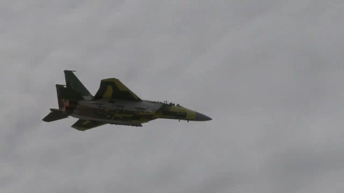 First F-15QA (Qatar Advanced) for Qatar Emiri Air Force Makes First Flight