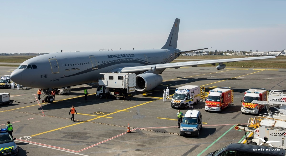 French Air Force Deploys Airbus A330 MRTT Phénixs in Coronavirus Battle