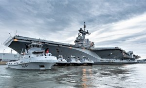 French Aircraft Carrier Returns to Home Port with 40 Suspected Covid-19 Cases