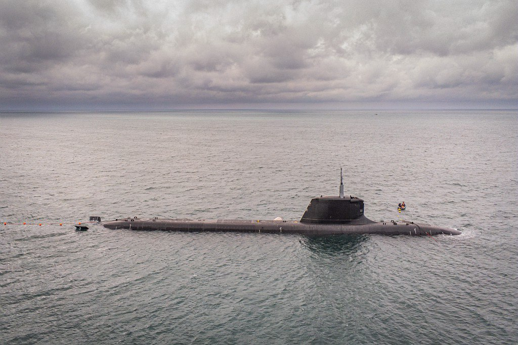 French Navy Suffren Barracuda-Class Nuclear-Powered Submarine Begin Sea Trials
