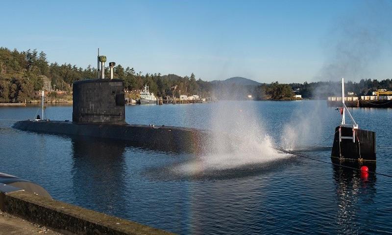 Her Majesty's Canadian Submarine (HMCS) Victoria