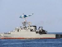 Moudge-class frigate Jamaran