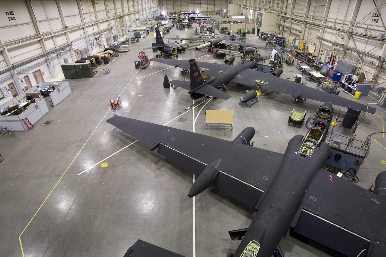 Lockheed U-2S Dragon Lady Reconnaissance Aircraft