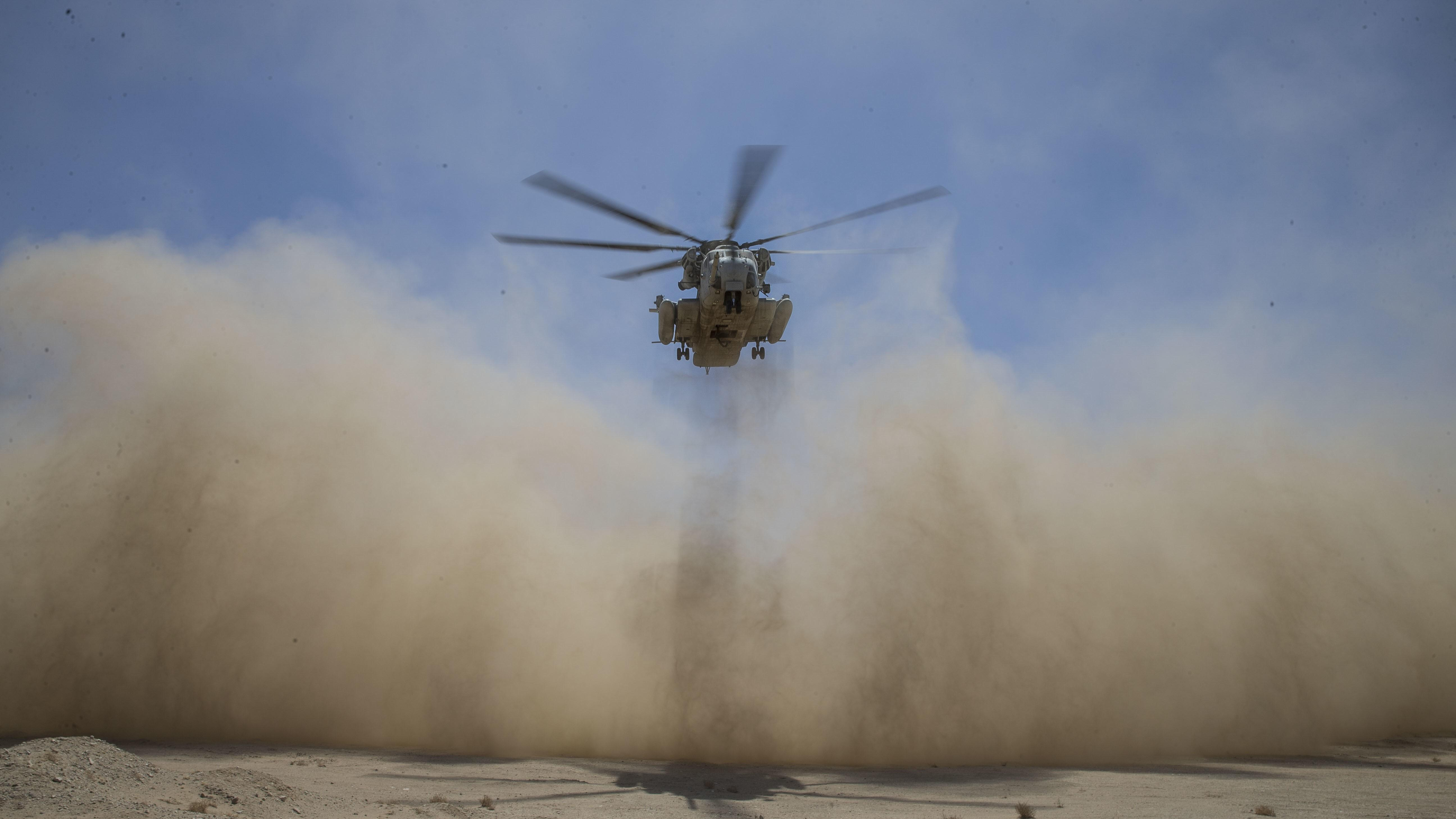 Low-Speed Precision Control Tested on CH-53E Super Stallion
