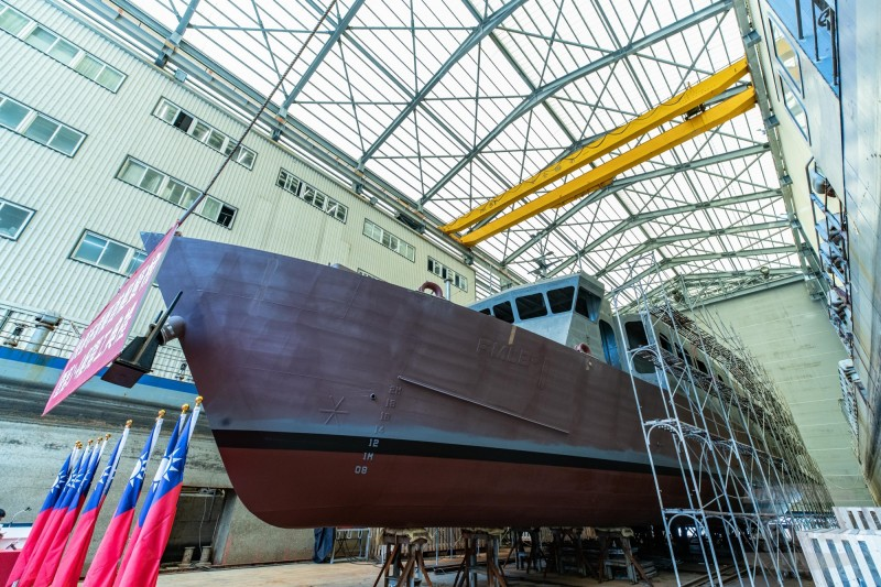 Lungteh Shipbuilding Lays Keel for Two Taiwan Rapid Minelayers
