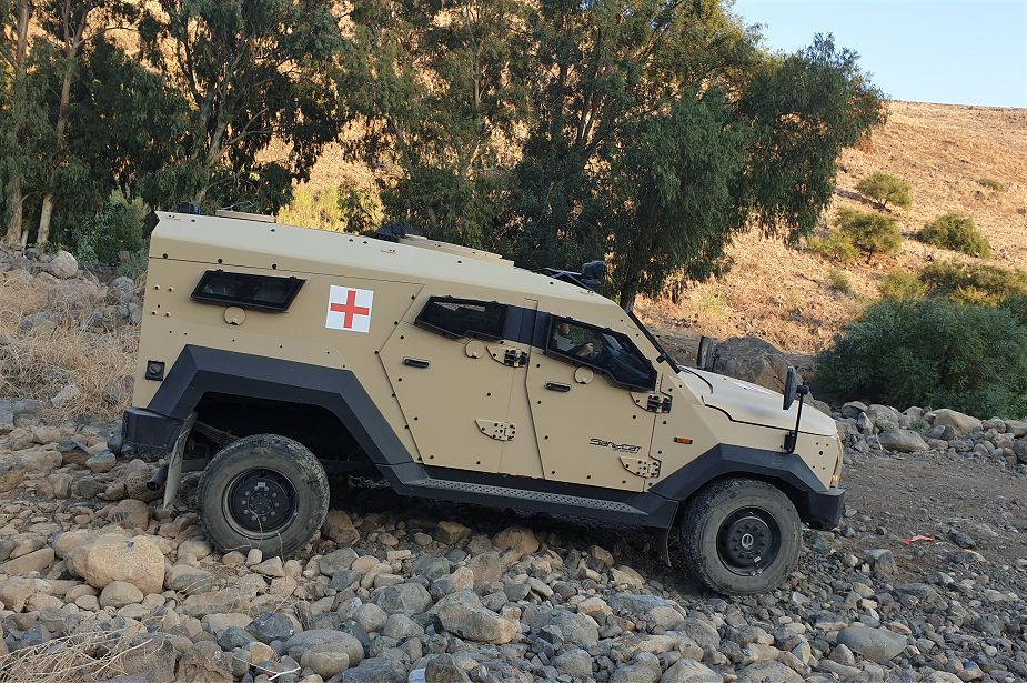 Plasan Adds Ambulance Variant to Its SandCat 4x4 Armored Vehicle Family