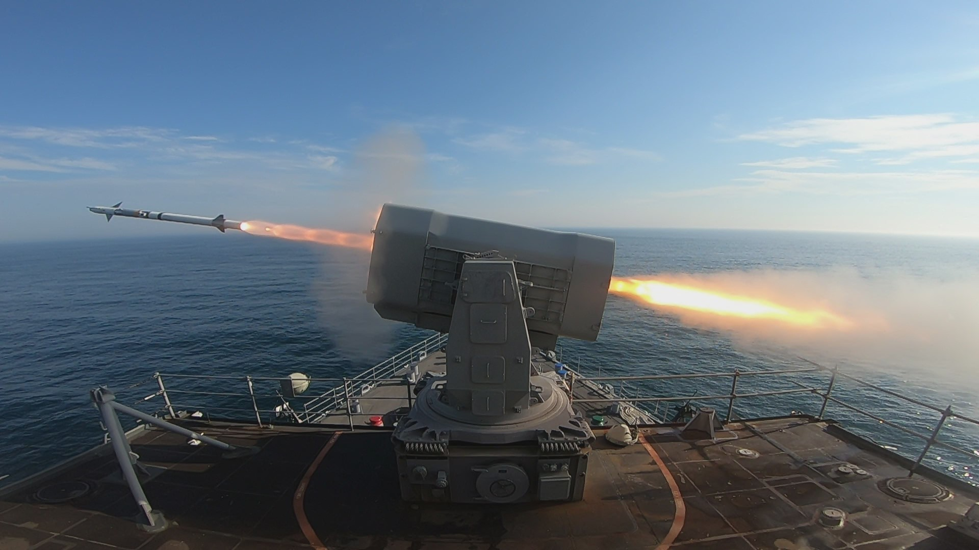 Rolling Airframe Missile (RAM) Block 2